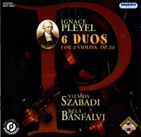 IGNAZ PLEYEL (1757-1831): 6 Duos for 2 Violins, Op. 23. - Records ...